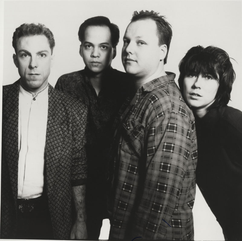 press photo of the pixies